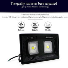 30W/50W/100W LED Flood Light Outdoor Search Lamp LED Luminaire Ultra Thin Spotlight LAD-sale(China)