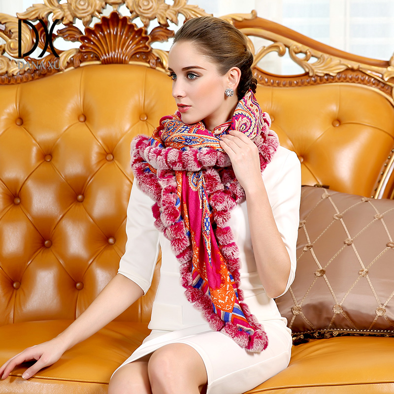2018 New Fashion Brand Winter Scarf For Women Scarf 125*125cm Large Luxury Women Wool Scarf Warm Cashmere Shawls and Scarves