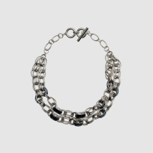 Amorita boutique Round metal necklace