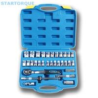 STARTORQUE 32pcs/set Spanner Socket 1/2 Car Repair Tool Ratchet Wrench Screw Mechanical