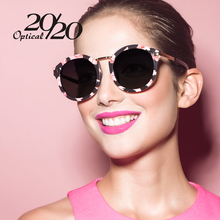 20/20 Brand Classic Luxury Polarized Sunglasses Women Flower Vintage Girls Oculos De Sol Brand Designer Women Sun Glasses 7010