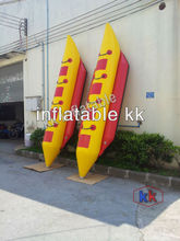 3-8 Person Inflatable Towable Water Sports, Inflatable Single Tube Banana Boat