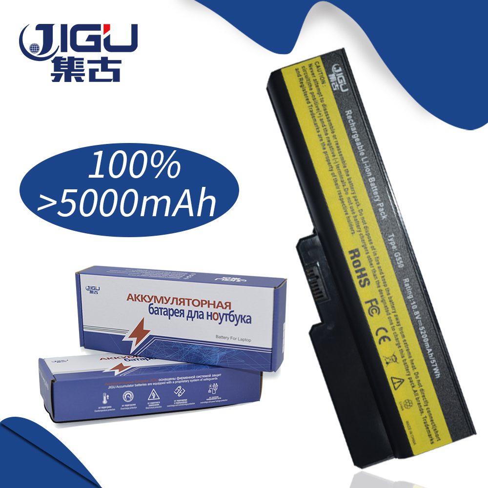 JIGU 5200MAH Laptop Battery For Lenovo N500 G550 For IdeaPad G430 V460 Z360 B460 L08S6Y02 6Cells