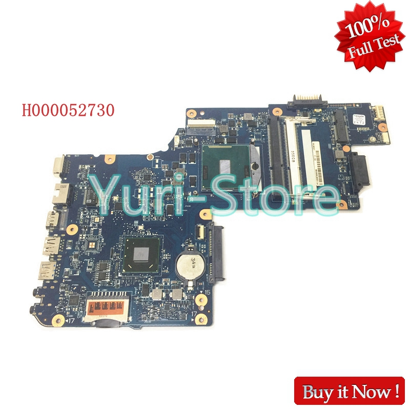 все цены на NOKOTION New H000052730 Laptop Motherboard for Toshiba Satellite C850 C855 L850 L855 C850-1HE C850-1CW HM70 Mainboard free cpu