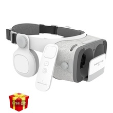 Original BOBOVR Z4 + Z5 Virtual Reality 3D VR glasses Cardboard 120 Degrees FOV VR Headset 3D with Bluetooth Remote Headphone