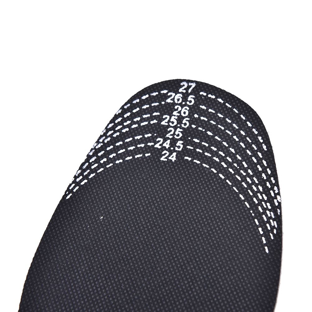 Scalable Insoles Bamboo Charcoal Deodorant Cushion Foot Inserts Shoe Pads