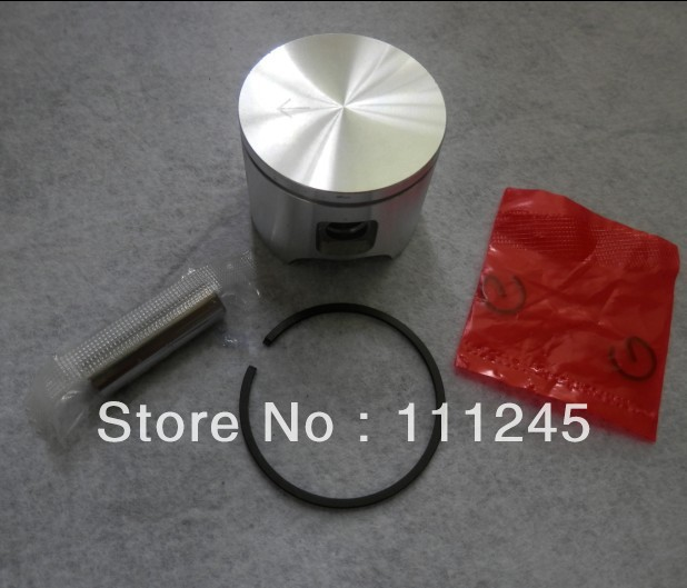 46MM PISTON KIT FITS HUS. CHAINSAW 55  CYLINDER ASSEMBLY KOBLEN RING SET PIN CLIPS CHAIN SAW PARTS REPL. OEM P/N 503 16 91-71 piston assembly 34mm fits zenoah chain saw g2500 2500 free shipping 25cc chainsaw piston kit komatsu chain saw parts