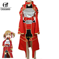 ROLECOS Customize Anime Sword Art Online Silica Cosplay Costume Complete Sets Any Size Cosplay Costume