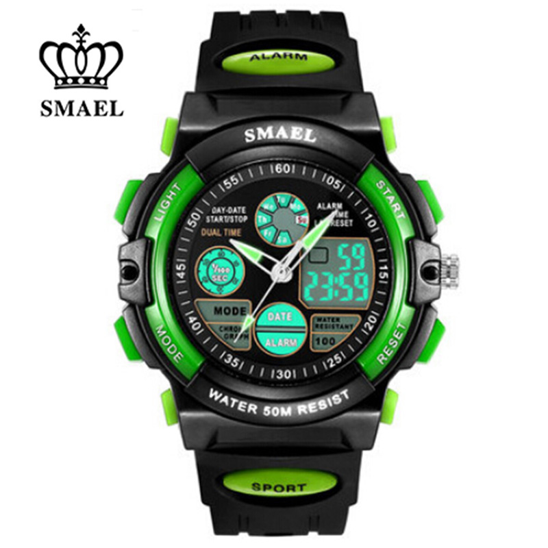 2017 S SHOCK Brand Women Kids Sports Watches Childrens Sport Watch Military Fashion Quartz Digital Watch Boys Wristwatch Relojes