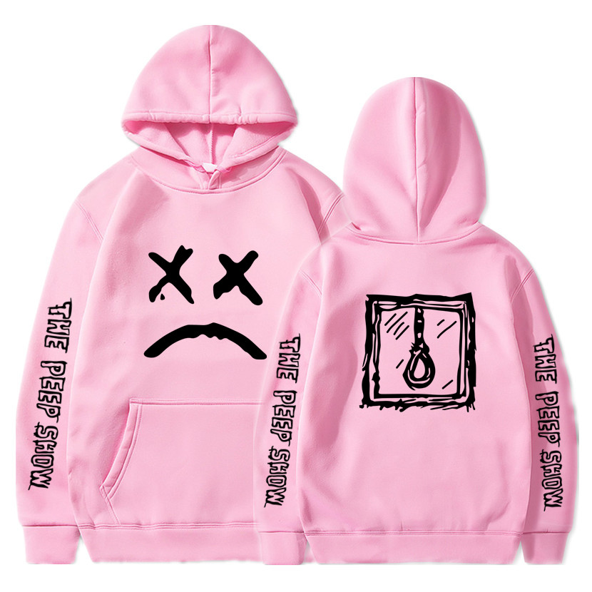 Men Sweatshirts Pullover Hooded Hoddie Lil.peep Cry Baby Male/women Sudaderas S-XXXL