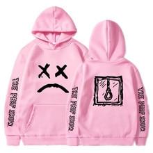 Lil Peep/толстовки с капюшоном Love lil. peep, мужские толстовки, пуловер с капюшоном, свитшоты для мужчин/женщин, sudaderas cry, детские толстовки с капюшоном, hoddie S-XXXL
