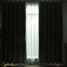 Thickened All Blackout Curtains Living Room Sun Block Curtain Shade Bedroom Sunscreen Insulation Blackout Curtains Fabric modern finished bedroom curtains blackout curtains blackout fabric living room thick shade cloth curtain curtains short