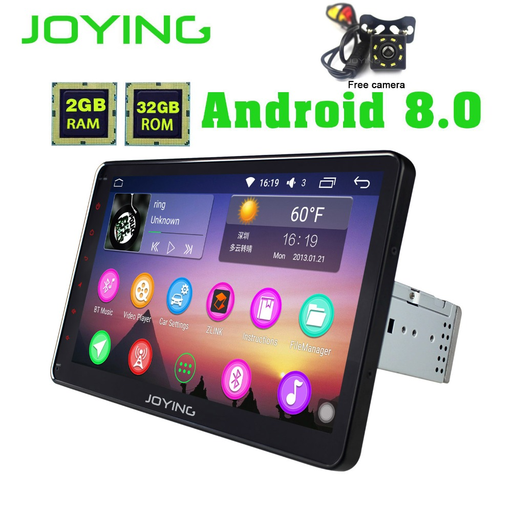 10 1 joying single din octa core 2gb ram universal android. Black Bedroom Furniture Sets. Home Design Ideas