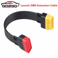 Lançamento OBD Cabo de Extensão para X431 V/V +/PRO/PRO3/Easydiag 3.0/Mdiag principal conector GOLO CARCARE 16Pin masculino para Feminino EM Estoque|Programadores de chave de carro| |  -
