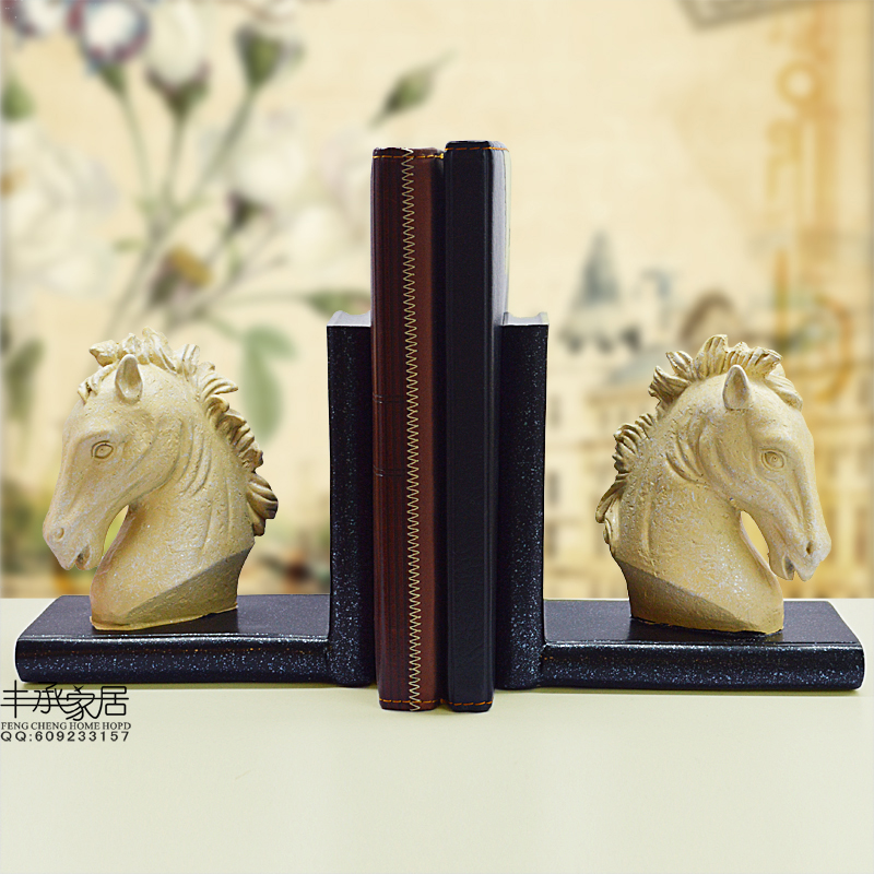 ФОТО Elegant bookend antique bookend fashion vintage bookend decoration classical , motou book end