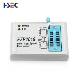 Image 5 - Juego completo EZP2019, programador USB SPI de alta velocidad + adaptador SOP8 de 12, clip de prueba, sop8/16, 1,8 V, adaptador de enchufe flash aux 24 25 EEPROM