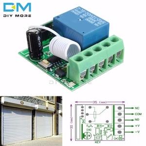 DC 12V 1CH 1 Ch Канал 433MHz беспроводной релейный модуль дистанционного управления RF Переключатель платы гетеродина приемник Электронный контроллер