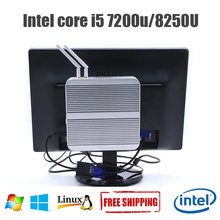 8TH Gen Gaming PC Intel Core i5 8250U Win10 Fanless Mini PC Core i3 7100U Alloy case Tablet Computer HDMI VGA Nepttop i5 7200U(China)