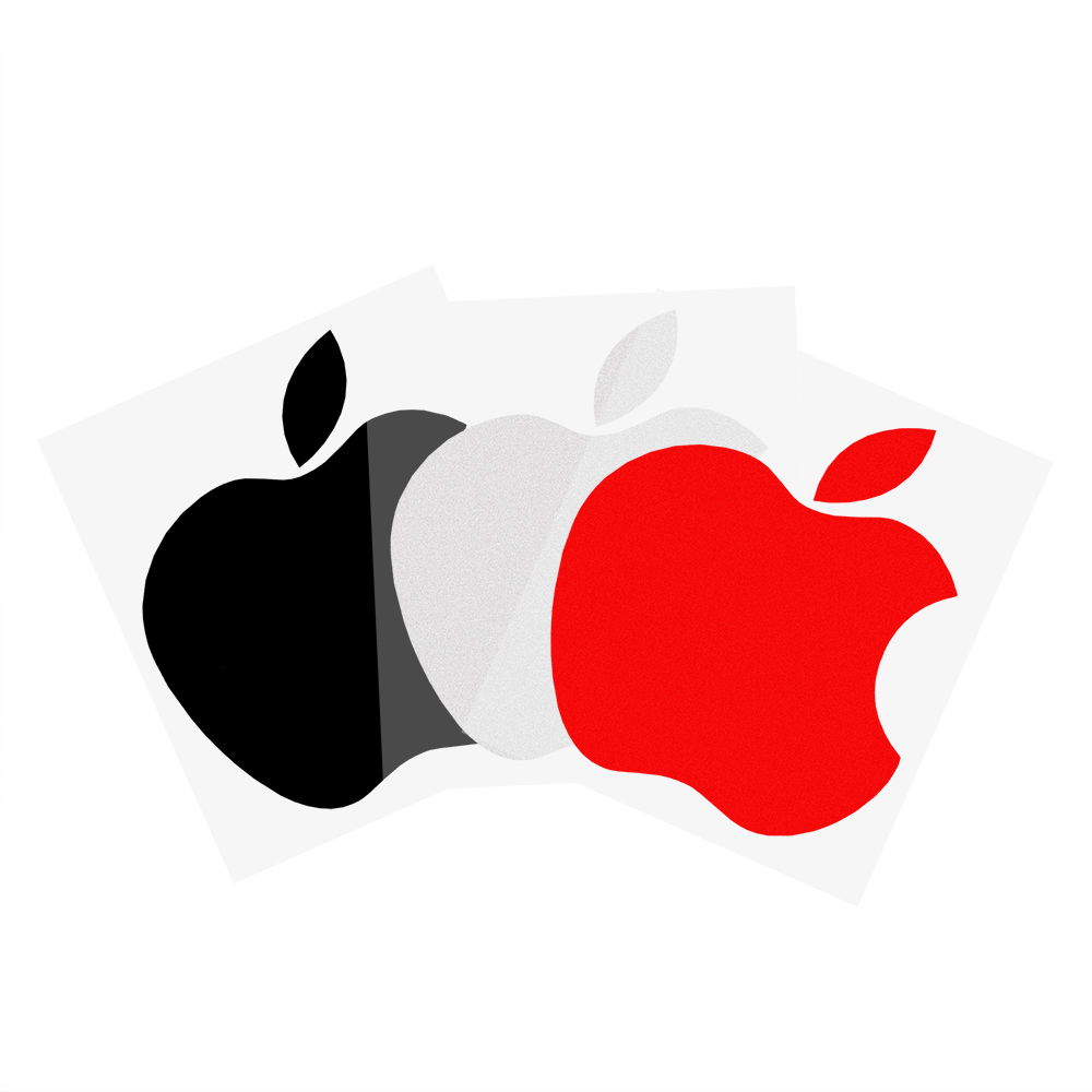 Car Window Decor 4 Colors Apple Logo Car Stickers and Decals Car styling Exterior Accessories Waterproof