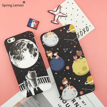 spring lemon font b 2018 b font NWE Cute Little Bear Little Fox Space Travelling Cartoon