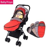 Baby Stroller Warm Sleeping Bag 2018 Winter YOYO YUYU VOVO YOYA Infant Stroller Car Windproof Foot Cover Universal Accessories