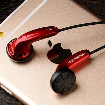 100% Original Boarseman K25 Hifi In Ear Earphone 3.5MM High Qaulity Flat Head Earbuds In Ear Headset Dynamic Earbuds