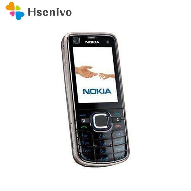 Original Nokia 6220 Classic A-GPS 3g 5MP Câmera 6220c Nokia 6220 Remodelado telefone móvel por atacado Frete Grátis