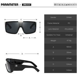 Image 3 - DUBERY Brand Design UV400 Sunglasses Mens Retro Male Goggle Colorful Sun Glasses For Men Fashion Mirror Shades Oversized Oculos