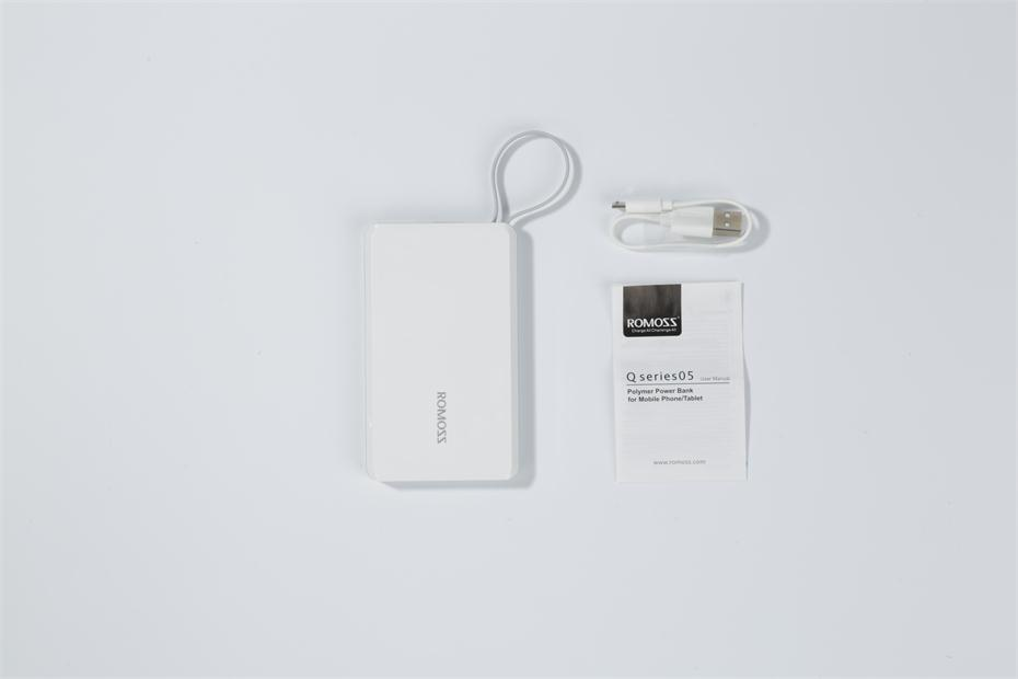 Romoss QS05 Power Bank Package