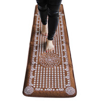 dk9 Natural rain flower stone pebble, sole massage cushion foot massager massage foot mat, stone road, finger pressing pla