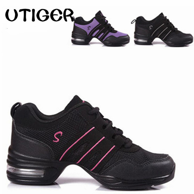 Women Sneakers Hop Shoes Hip Lady Modern Jazz Running Athletic Dance Outdoor