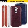 IMUCA Бренд Телефон Случае Для LG G2 Вертикальный Флип Роскошь чехол Для LG Optimus G2 D800 D802 D803 VS980 LS980 случае чехол