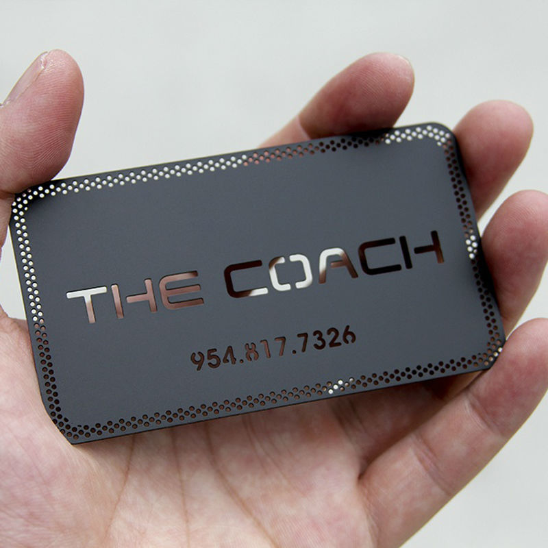 High Grade Metal Card Car Club Membership Card Club Card Metal