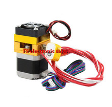 3D Printer Head MK8 Extruder J-head Hotend E3d Nozzle 0.4mm Feed Inlet Diameter 1.75 Filament Extra Nozzle +1 meter motor cable