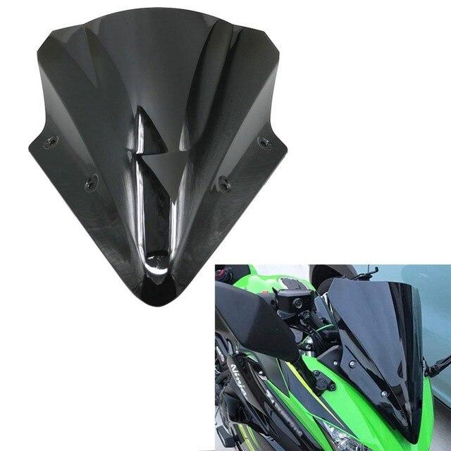 Aliexpresscom Buy Motorcycle Black Windshield Windscreen Window