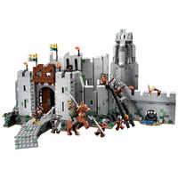 Block Legoing Herr der Ringe Figuren Blöcke Die Schlacht Von Helms Tiefe DIY Modell Action Figure DIY Spielzeug Für kinder