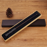 37 CM Metal Core Harry Potter Magic Wand Model Magic School Props High Quality Gift Box