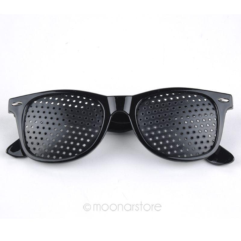 Free Shipping Vision Spectacles Eyesight Improver Pin Hole Eyes Training Exercise Glasses Eyewear