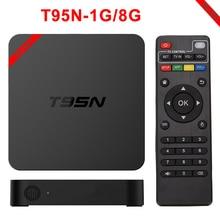 Android TV Box MX T95N-Mini + Android 5.1 TV Box Amlogic S905 Quad Core 2.4 GHz WiFi HDMI 2.0 KODI 16.0 1G 8G Smart Set Top caja