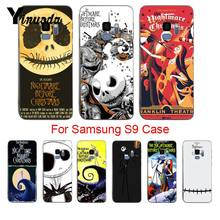 Yinuoda The Nightmare Before Christmas Martinetti Skellington Molle di Tpu Cassa Del Telefono per Samsung Galaxy S8 S7 Bordo S6edge Più S5 S9plus(China)
