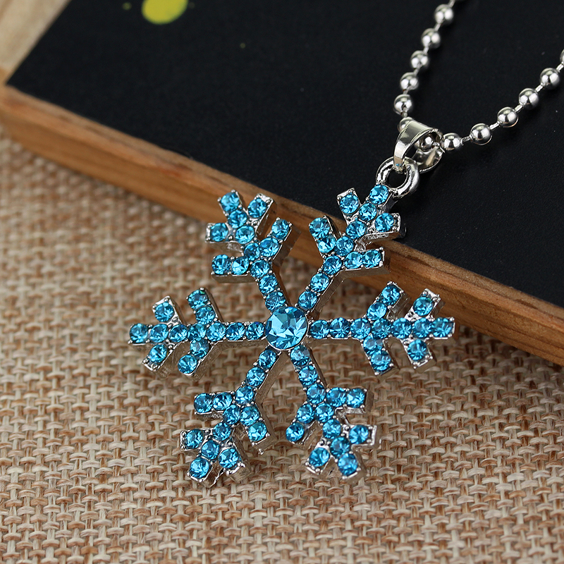 Snow Queen Diamontrigue Jewelry: Christmas Gifts America 3D Anime Movie The Snow Queen