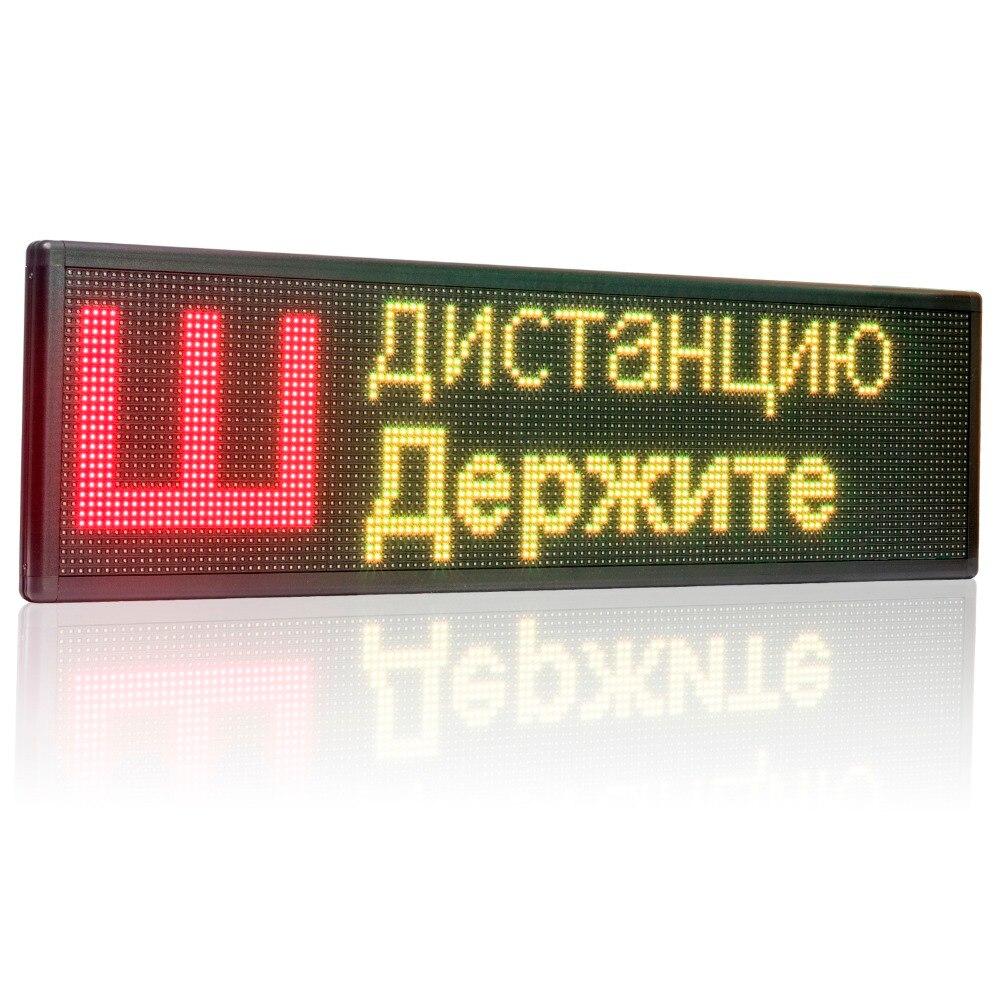 12 v 32x128 pixels wi fi 120 v levou sinal modulo de led multi linha de