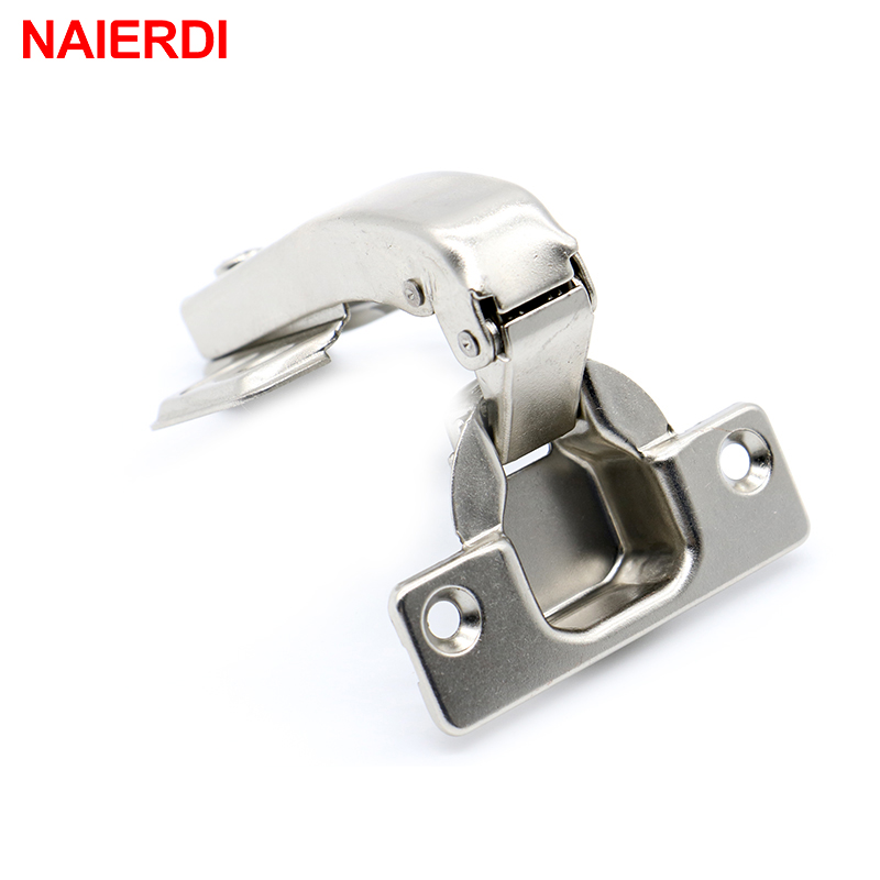 Brand NAIERDI 90 Degree Corner Fold Cabinet Door Hinges 90 Angle Hinge Hardware For Home Kitchen Bathroom Cupboard With Screws