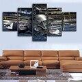 5 Unidades de lona Dallas Cowboys Decoratation para el hogar Pintura Pintura Sobre Lienzo Cartel de La Pared de La Manera A Estrenar Sport Boys \ J0422