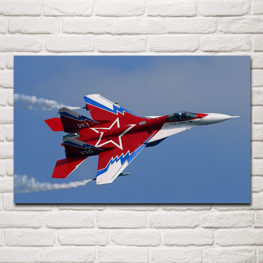 """24/"""" x 36/"""" Poster MIG29 Military Fighter Jet"""