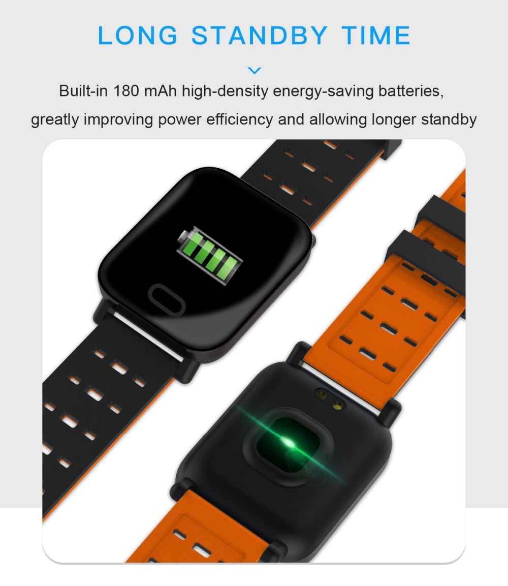 Q6 Smartwatch IP67 Waterproof Wearable Device Bluetooth Pedometer Heart Rate Monitor Color Display Smart Watch For AndroidIOS (13)