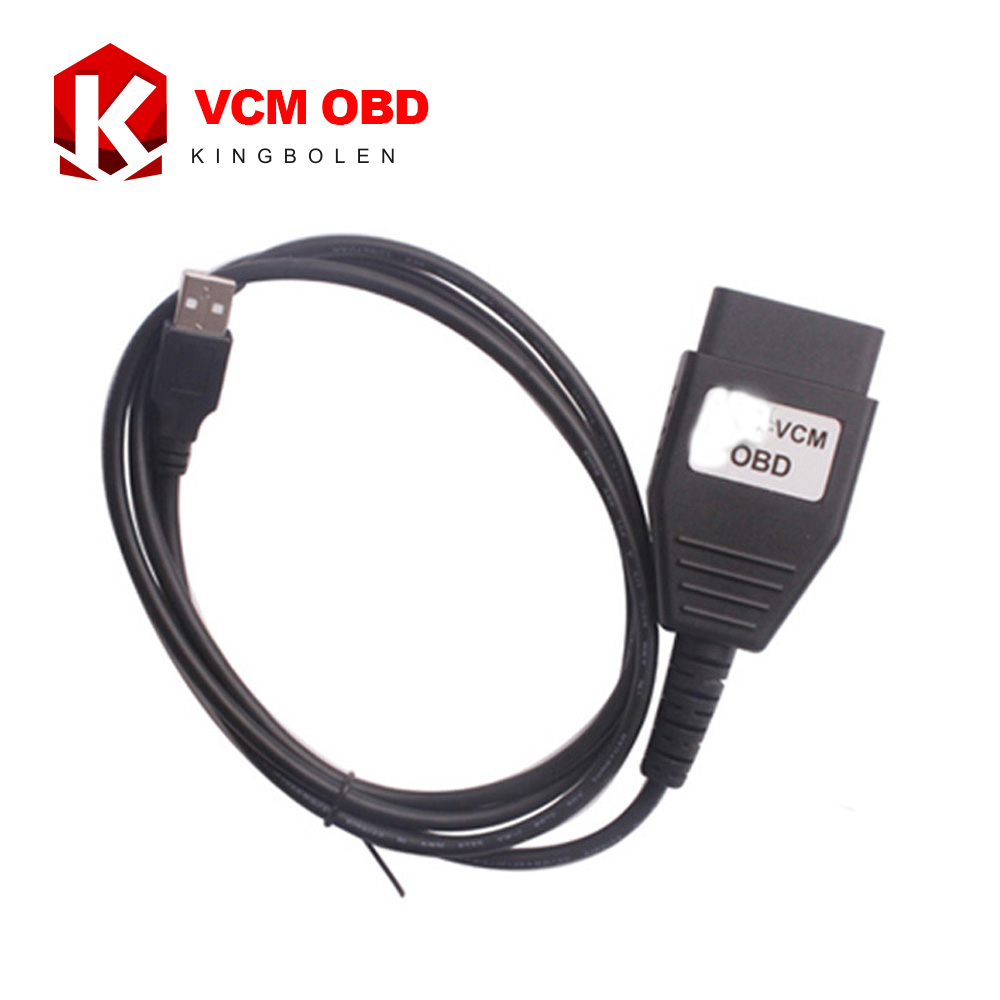 Prix pour Pour FORD OBD Auto USB Câble De Diagnostic VCM OBD Super OBD2 Diagnostic Scanner Livraison Gratuite
