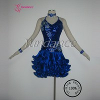 İspanya çocuk latin dans dress l-1110