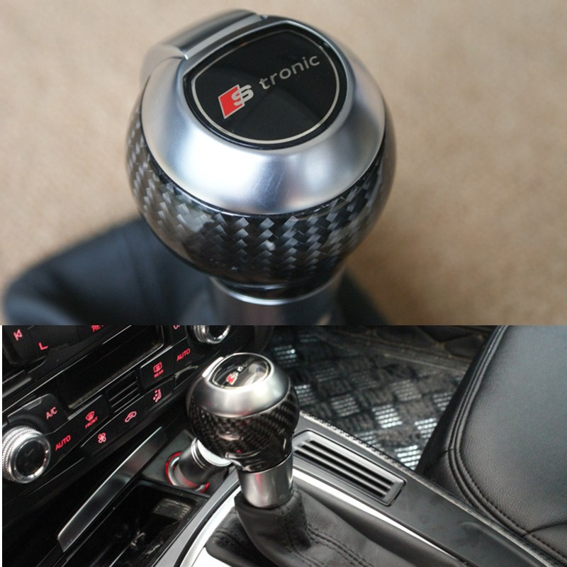 DSG Stronic Automatic Gear Shift Knob & Dust Cover for Audi Q3 A4 A5 Q5 VW Golf CC