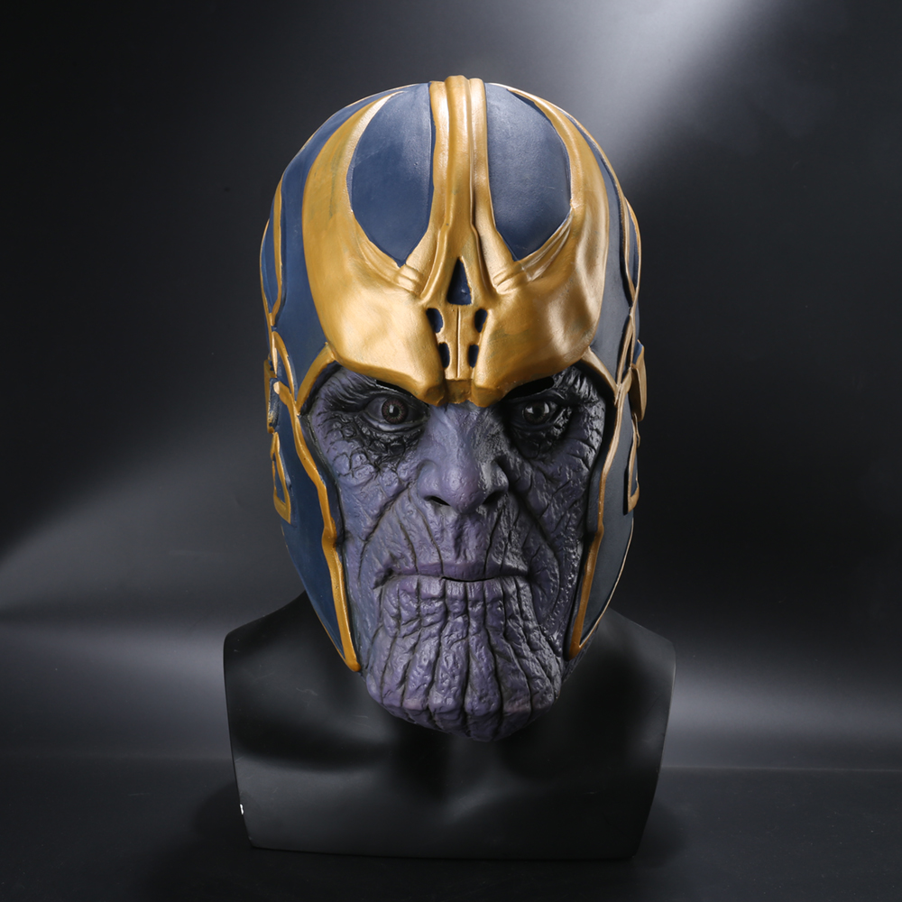 Avengers Infinity War Cosplay Costumes Thanos Latex Mask Halloween Masks For Adlut